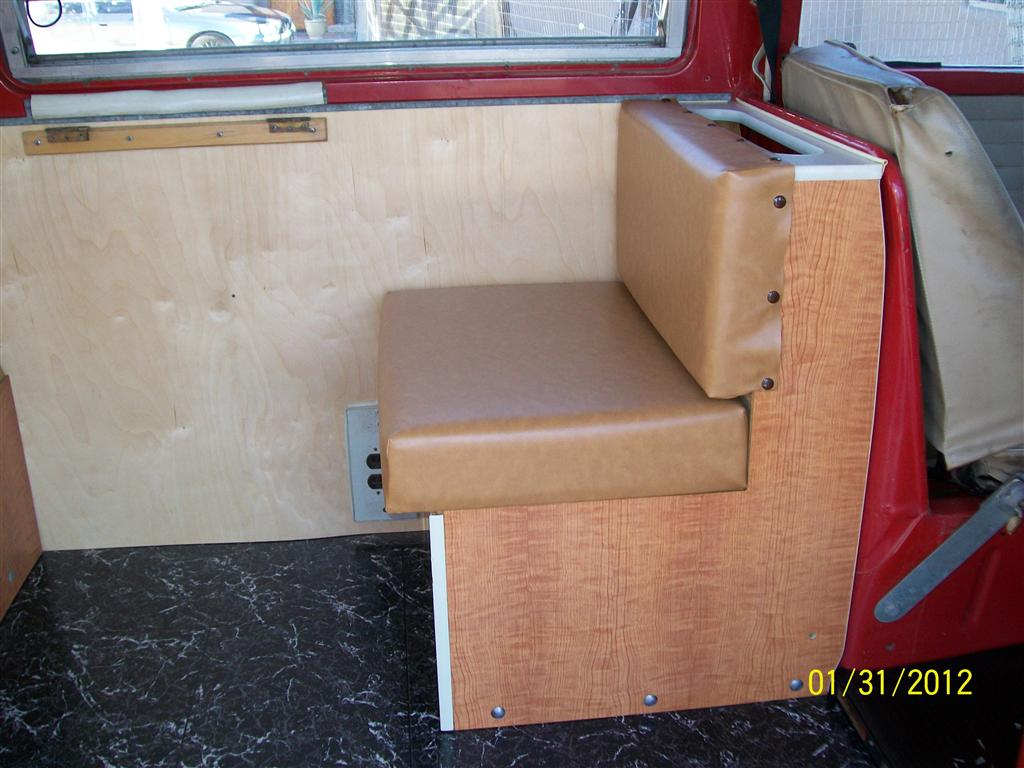 New Westy Jumpseat